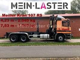 roro tractor unit Mercedes Benz 2635 6x4 Actros Meiller + Kran 107 RS + FB +1.Hd