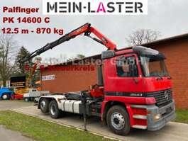 roro tractor unit Mercedes Benz 2543 Actros Meiller +  PK 14600C   12,5m -870kg