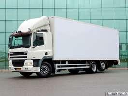 camión frigorífico DAF FAN CF85.360  9 TONS VOORAS  3 TONS KLEP  KOELING  ANALOGE TACHO 2006