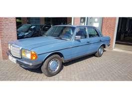 sedan car Mercedes Benz 123 240D 1987