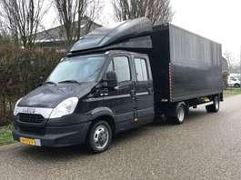 закрытый ЛКТ Iveco Daily 35C17 - 10T  BE Trekker / Combinatie Veldhuizen oplegger met zijla... 2014