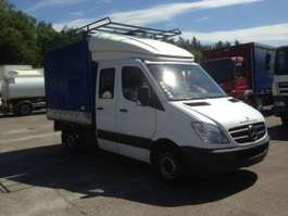 closed box lcv < 7.5 t Mercedes Benz SPRINTER DOUBLE CABINE/PORTE BAGAGE/BACHE 2007
