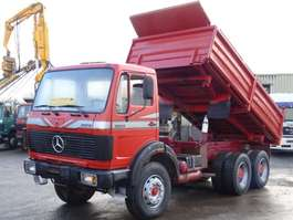 автосамосвал Mercedes Benz 2628 Kipper 6x4 V8 ZF 13T. Good Condition 1984