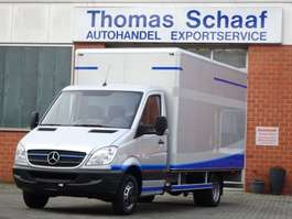 closed box lcv < 7.5 t Mercedes Benz Sprinter 515 Cdi Koffer Maxi 430 Lang Automatik 3.5 ton Euro 4 2009