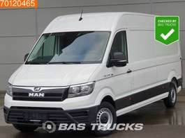 samochód dostawczy zamknięty MAN TGE 3.140 2.0 TDI Airco 270° Deuren Lang Maxi L4H3 15m3 A/C 2018