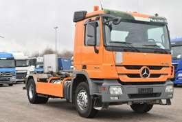 roro tractor unit Mercedes Benz Actros 1836 4x2 Abroller Meiller RK 14.55 Klima