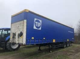 sliding curtain semi trailer Schmitz Cargobull Curtainside Tautliner | 3 Axle | 3 Assen | Schuifzeil schuifdak 2008