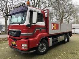 closed box truck MAN TGS 26.440 6X2-4 BL | Open top | Plattform | Pritsche 2008