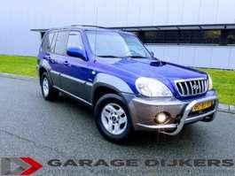 coche particular todoterreno 4 x 4 Hyundai Terracan, Van 2,9 CRDI 4WD SUV 2 Seater Meeneemp 2003