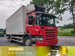 camión frigorífico Scania P270 Euro4 Frigo Carrier Supra 950 2008