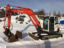 crawler excavator Kubota KX 080-3 w / rotor tilt & 2 buckets 2011