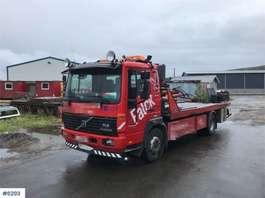 camião reboque de recuperação Volvo FL6 w / JIGE car storage build 1999