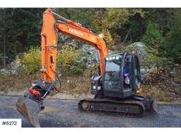 crawler excavator Hitachi ZX85US w/rotortilt WATCH VIDEO 2017