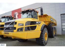 dumper gommato Volvo A40G 6x6 Dumps on black signs and few hours 2018