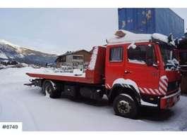 camião reboque de recuperação Mercedes Benz 1117 4x2 salvage car 1995