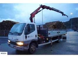 crane truck Mitsubishi Canter 4x2 Crane truck with Fassi F65A.22 crane an 2001