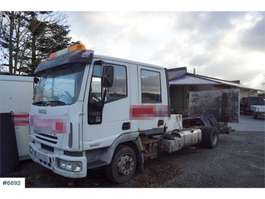 chassis cab truck Iveco Eurocargo 80E21 4x2 Crew chassis with lift. Rep.ob 2005