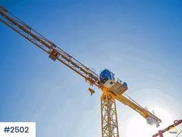 static tower crane Potain MCT 88 City kran 2008