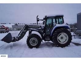 ciągnik rolniczy New Holland TS110 w / Quicke loader & bucket 2000
