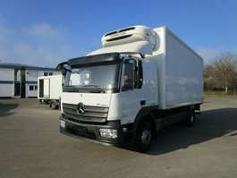 camión frigorífico Mercedes Benz ATEGO 1624 L Schlafkabine Kühlkoffer LBW 1,5 T 2015