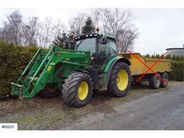 ciągnik rolniczy John Deere 6125R w/good tires and loader. See hours! 2013