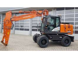 wheeled excavator Hitachi ZX170WT-6 2020