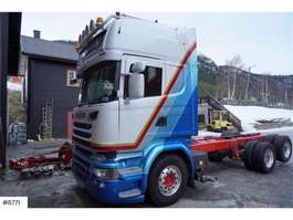 chassis cab truck Scania R580 6x2 chassis 2015