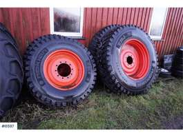 farm tractor Nokian Tri 2 winter tires with rims