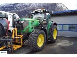 trattore agricolo John Deere 6210R Traktor med lasteapparat. 50 km/t 2014