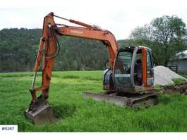 crawler excavator Hitachi ZX75US-A SE VIDEO 2005