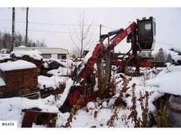 camion grue Vkran 10.92 timber crane