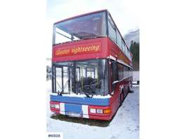 tourist bus MAN A14 6x2 Double-deck sightseeing bus with roof open 1995