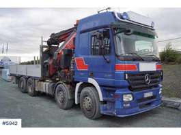 автокран Mercedes Benz 3251 8x4 truck w/ Fassi 110 t/m crane 2008