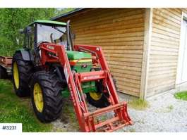 trattore agricolo John Deere 2850 w/new tyres 1993