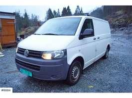 closed lcv Volkswagen Transporter 140 4Motion Varebil med innredning. WA 2013