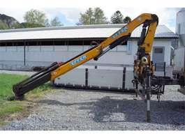all terrain cranes Effer 145 B Bakmontert kran med fjernstyring 2012