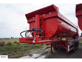 andere Auflieger Istrail 3 axle tipper trailer with sliding shafts 2014