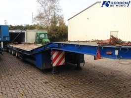 lowloader semi trailer Nooteboom Nene WA 3S38 Tieflader! Radmulden + Rampen!