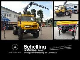 crane truck Unimog U 5000 MKG Kran HLK 138HP*mich kann man mieten*