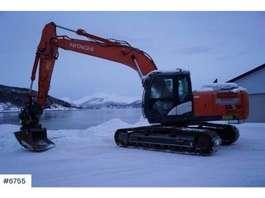 crawler excavator Hitachi Zaxis 210LC 2016