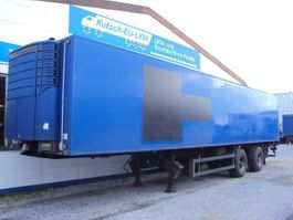 refrigerated semi trailer Kögel 2 achs Kühlauflieger Carrier Diesel Lenkachse Hebebühne 2 to 2003