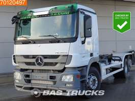 chassis cab truck Mercedes Benz Actros 2541 L 6X2 2009-Chassisnumber 3-Pedals Euro 5 2012