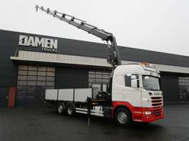crane truck Scania G 480 LB 6x2 Euro 5 2013