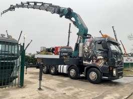 crane truck Volvo FH12-460 - 8x4 + CRANE (100Tm) COPMA 990.7x + JIB 4x + WINCH -  MANUAL G... 2006