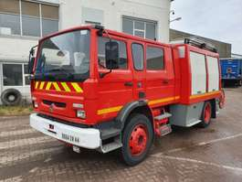 fire truck Renault M210 - 4000L TANK - COMPLETE WITH PUMP 1997