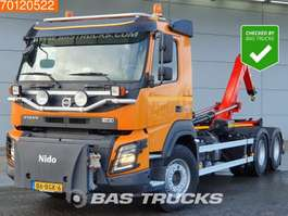container truck Volvo FMX 410 6X4 NL-Truck Nido Euro 6 2015