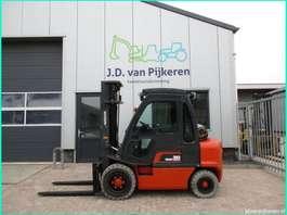 chariot élévateur Nissan 3 ton LPG cabine +triplex +sideshift +4x hydrauliek! 2003