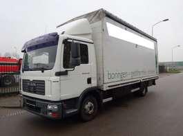 closed box truck MAN TGL 12.240 + OPRIJKLEP 2007