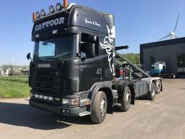 container truck Scania 144 2001