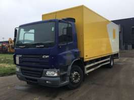 closed box truck DAF CF 65. 220 2005